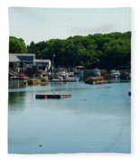 Coastal Maine Bay Fleece Blanket