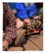 Coastal Maine Is Lobster Fleece Blanket