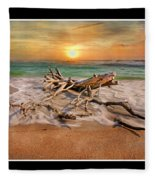Coastal Morning  Fleece Blanket