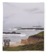 Coastal Scene 7 Fleece Blanket