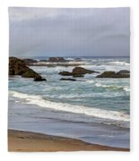 Coastal Serenity  Fleece Blanket