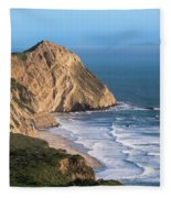 Coastline At Point Reyes National Sea Fleece Blanket