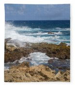 Coastline Surge Fleece Blanket
