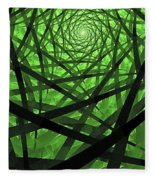 Coaxial Jungle Fleece Blanket