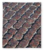 Cobblestones Fleece Blanket