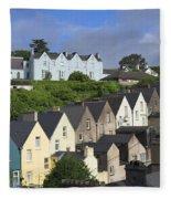 Cobh Town Houses Fleece Blanket