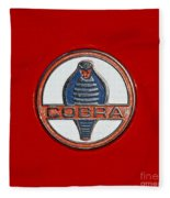 Cobra Emblem Fleece Blanket
