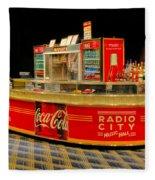 Coca Cola Fleece Blanket