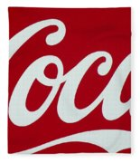 Coca Fleece Blanket