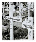 Cochin Cemetery  Fleece Blanket