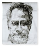 Urban Art Of Cochin Fleece Blanket