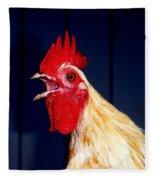 Cock-a-doodle-doo Fleece Blanket
