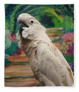 Cockatoo  Fleece Blanket