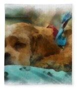 Cocker Spaniel Photo Art 06 Fleece Blanket