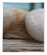 Cockle And Sea Urchin Fleece Blanket