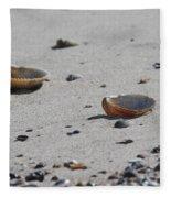 Cockle Shells On Little Island Fleece Blanket