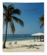 Coconut Beach  Fleece Blanket