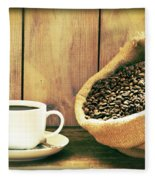 Coffee Fleece Blanket