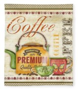 Coffee-jp2573 Fleece Blanket