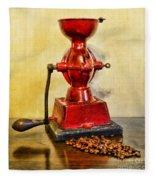 Coffee The Morning Grind Fleece Blanket