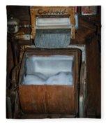 Coffield Washer Fleece Blanket