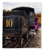 Cog Railway Fleece Blanket