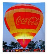 Coke Float Fleece Blanket