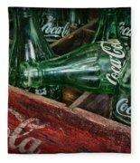 Coke Return For Deposit Fleece Blanket