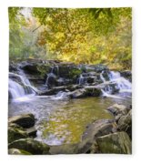 Coker Creek Falls Fleece Blanket