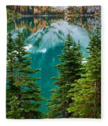 Colchuck Reflection Fleece Blanket