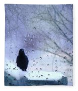 Cold Crow Fleece Blanket