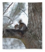 Cold January 2014 Fleece Blanket