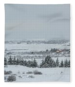 Cold Light Fleece Blanket