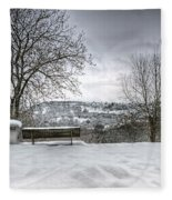 Cold Seat With A View Fleece Blanket