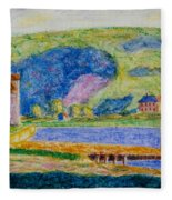 Cold Spring Harbor Fleece Blanket