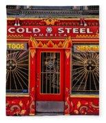 Cold Steel Fleece Blanket