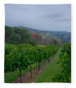 Colibri Vineyards Fleece Blanket
