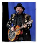 Colin Linden Of Blackie And The Rodeo Kings Fleece Blanket