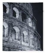 Colosseum Before Dawn Fleece Blanket