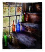 Collector - Bottle - A Collection Of Bottles Fleece Blanket