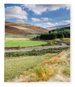 College Valley Forest Fleece Blanket