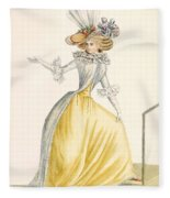 Collerette A La Henri Iv, Plate Fleece Blanket