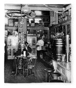 Collins Pharmacy, 1914 Fleece Blanket