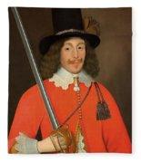 Colonel John Hutchinson, C.1643 Fleece Blanket