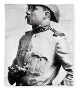 Colonel Theodore Roosevelt 1898 Fleece Blanket