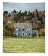 Colonial Home Fleece Blanket