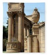 Colonnades Palaces Of Fine Arts Fleece Blanket