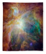Color Burst Fleece Blanket
