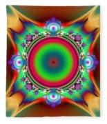 Color Cross Fleece Blanket