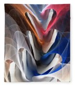 Color Fold Fleece Blanket